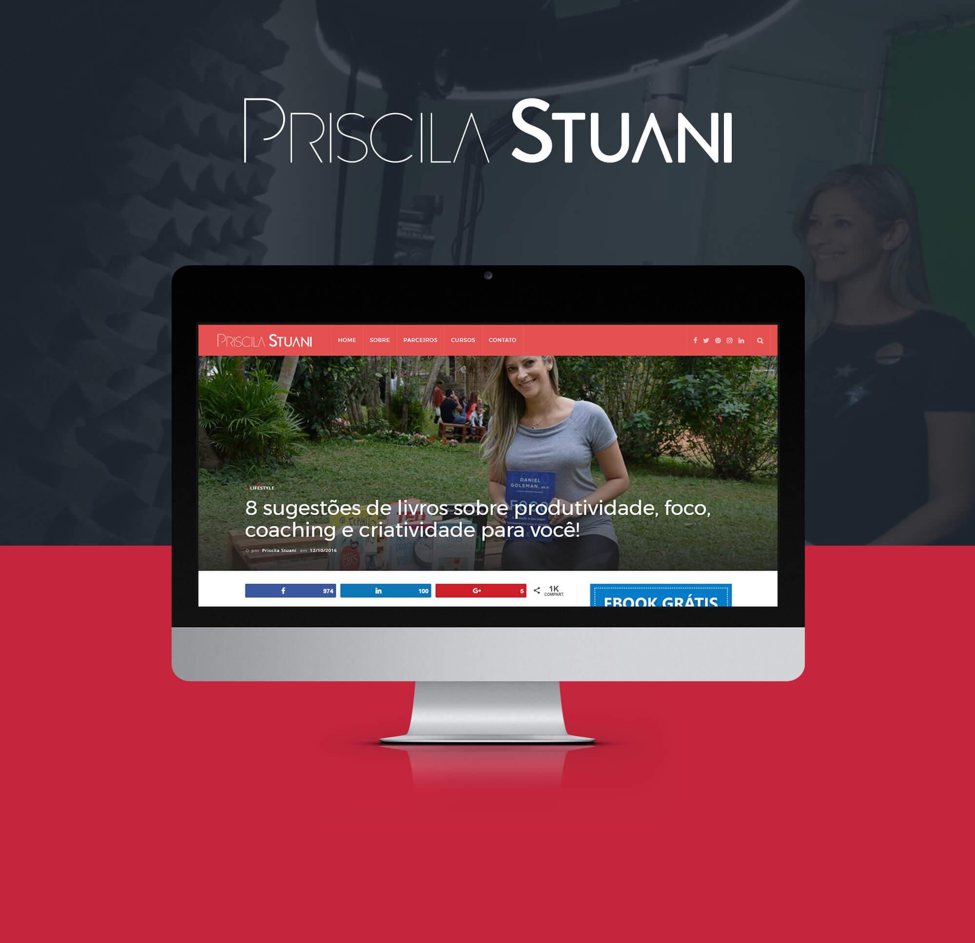 Priscila Stuani - Lifestyle, Personal Branding e Marketing Digital
